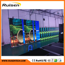 P3.91 Indoor LED Display Linsn Nova Contrl Rental Die Casting Aluminum Cabinet 500*1000mm Trade Shows Concerts Video Players