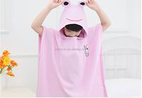 100% cotton Terry cloth cotton childrens cheap bathrobe for kids