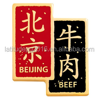 Manufacturer direct offer zinc alloy material uae pin badge