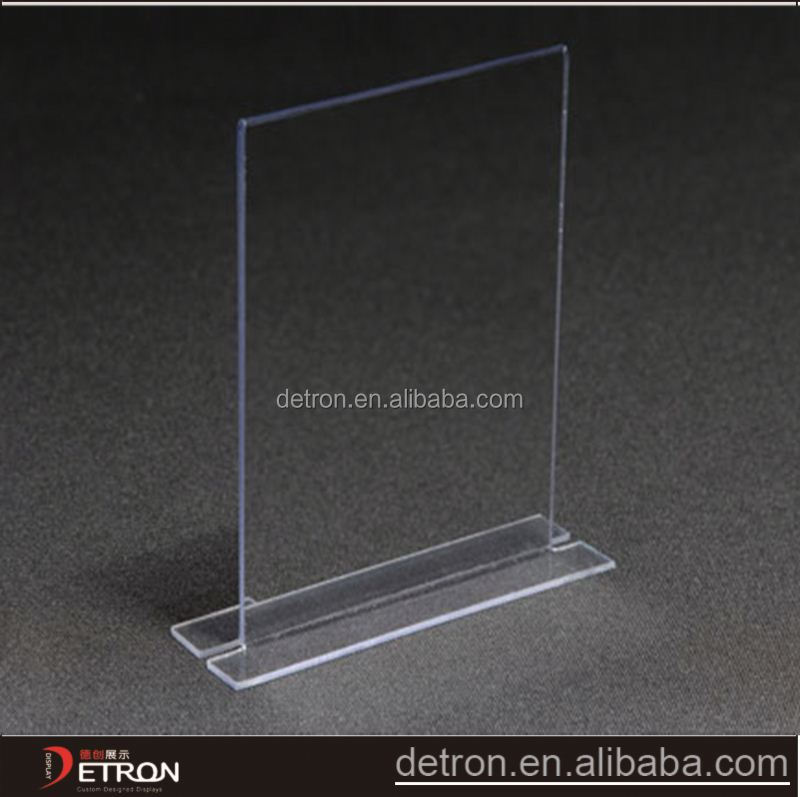 Clear Acrylic Table Top Flyer Display Holder - Buy Flyer Display ...