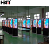high quality 55 inch free standing advertising multi touch screen kiosk