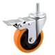 Load capacity 80kg threaded stem 3 in. Dual Locking Caster