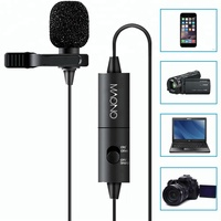 Manufacture 3.5mm Port Compact Lapel Microphone ,Lavalier Microphone