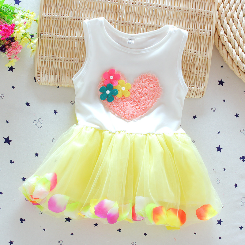 Wholesale Price Cotton Absorb Sweat New Born Baby Dress Rose Flower Design Buy New Born Baby Dress New Baby Dress Baby Dress Rose Product On