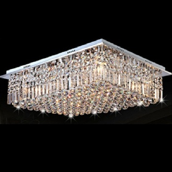 Crystop Clear K9 Crystal Chandelier Dining Room Light Fixtures ...
