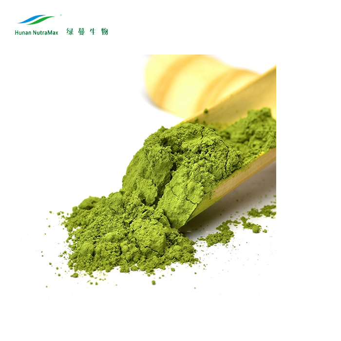 2019 Best Selling Golden Supplier Ingredient Instant Organic Matcha Tea Extract Powder Free Sample