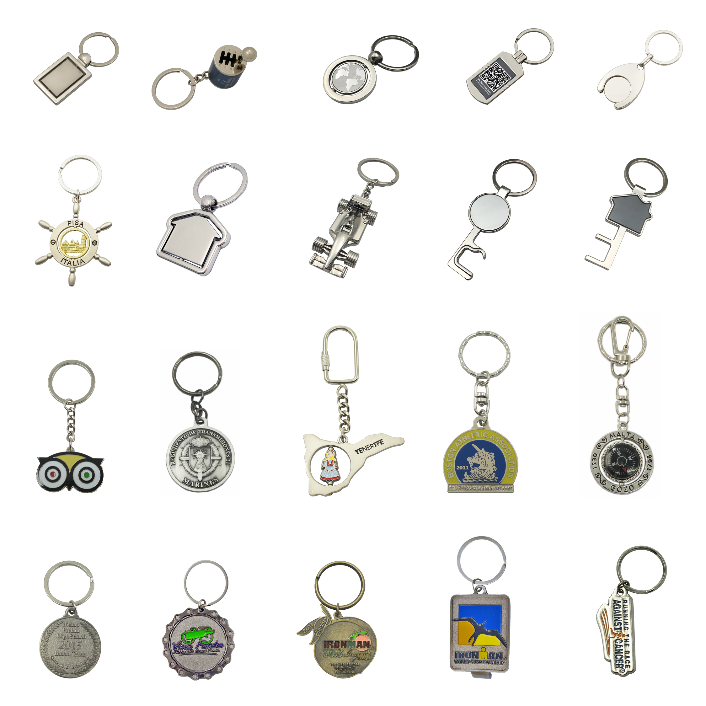 Brand New With High Quality Customized Token Coin Keychain