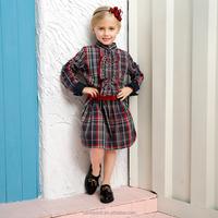 Fashion London Style Parent-child Long Dress Design Shirt prom dress
