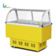 Restaurant carting High quality Ice Cream Display Freezer
