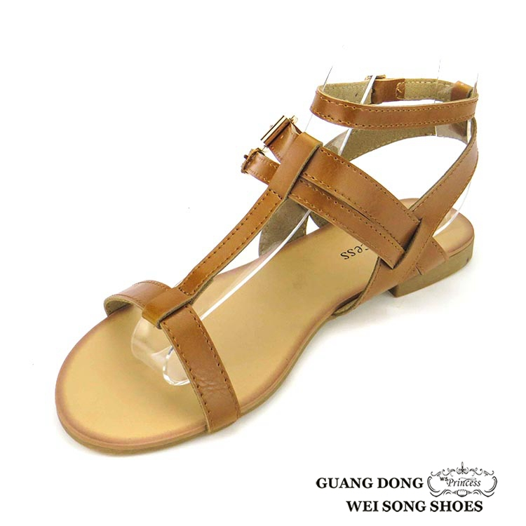 1fbeb9d6c8ad38 Simple Lady Flat New Model Girls Sex Shoes Sandal For The Young ...
