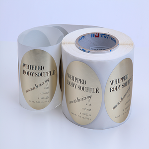 Factory price professional self adhesive printed roll sticker bottle label
