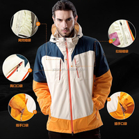 thermal motorcycle hiking ski jacket