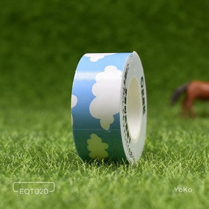 Equipter New Typeable Washi Tape Sky&Cloud Cute Masking Tape for TEPRA Lite
