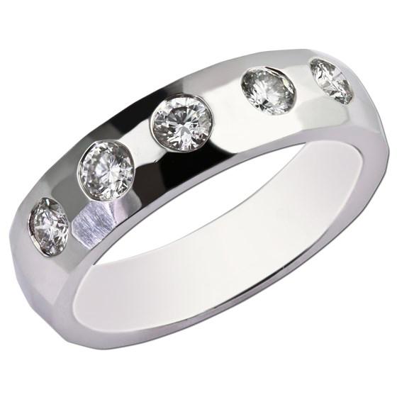 Gents Diamond Ring Design