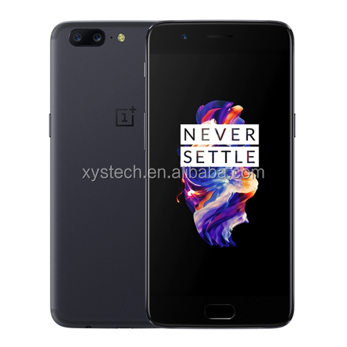 "Original Oneplus 5 Cell Phone Snapdragon 835 Octa Core 6GB RAM 64GB ROM 5.5"" Oneplus 5 mobile phone shell"