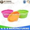 Custom Non-toxic silicone rubber pet bowl and pet toy printed silicone