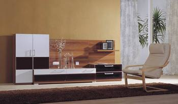 2014 Simple Tv Wall Units Design Was Made From E1 Solid Chipboard With  Painting For Living