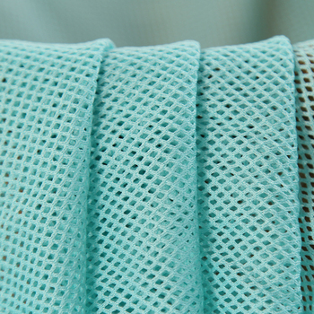 Polyester Material Fishnet Mesh Fabric by The Yard