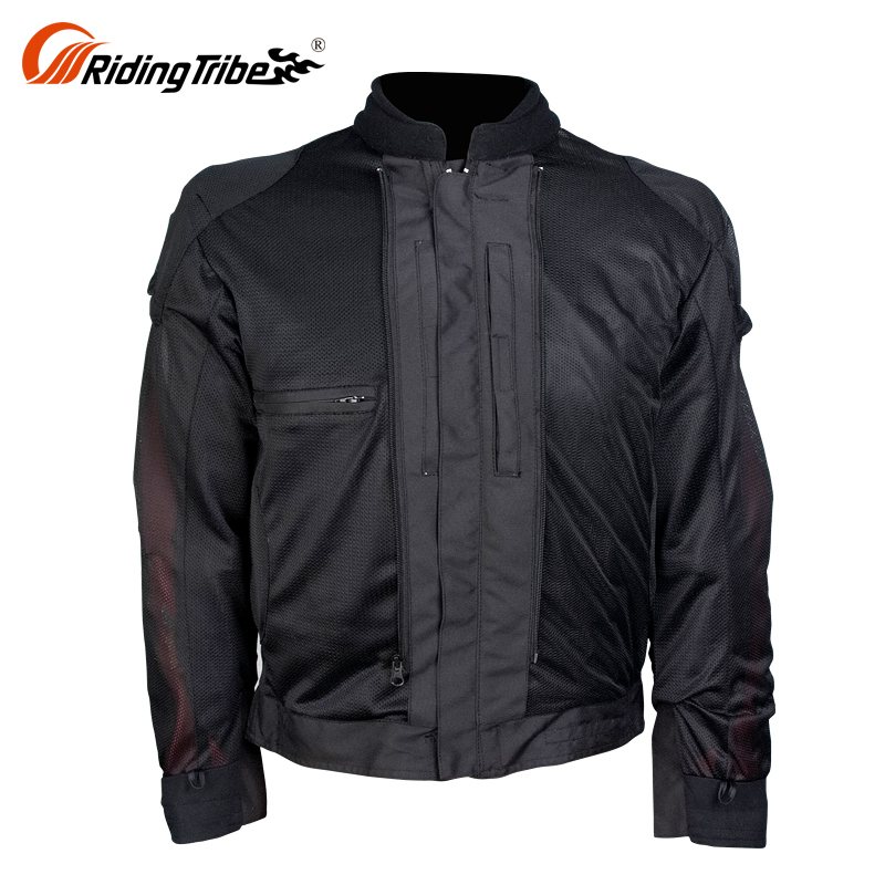 100% polyester Outdoor jacket with protectors crane outdoor motorcycle wear