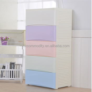 Key 5 Layer Kitchen Drawer Covering Plastic Clothing Cupboard