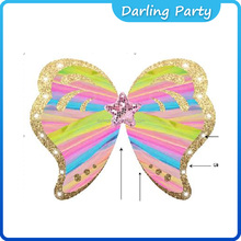 China Factory Carnival colorful Fairy Party wings DLG0001