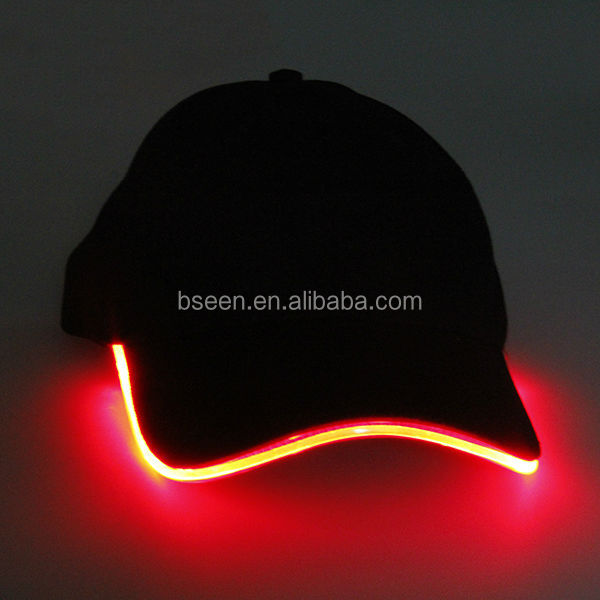 2014 import china goods glow in dark led <strong>hat</strong> for events