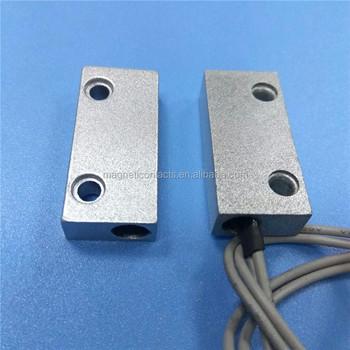 Alarm Door Sensor In Security System Magnetic Door Contact Zinc Alloyed  Alarm Door Contacts   Buy Alarm Door Sensor,Magnetic Door Contact,Alarm  Door ...