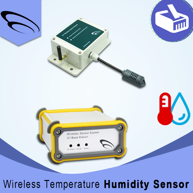 Long range wireless rf thermostat <strong>Temperature</strong> and Humidity Sensor