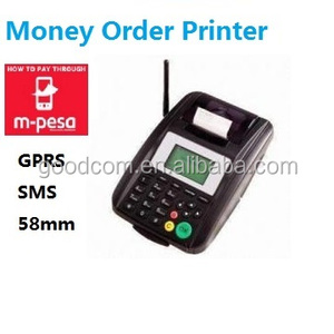 Low cost payment terminal, GPRS SMS online order Printer for Restaurant, Bank, Bus, Bill Payment
