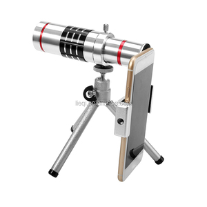 LIEQI High Quality Fashion 18X astronomical telescope mirror camera zoom lens for mobile phone with tripod