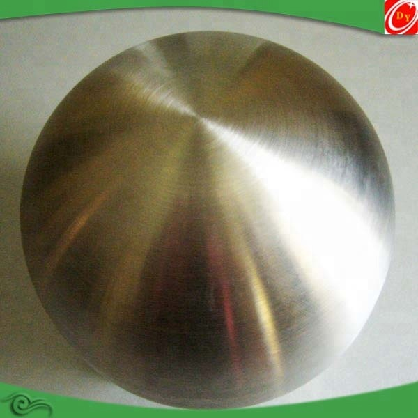 200mm Brushed stainless steel hollow ball/sphere
