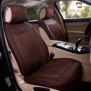 New Design Ice Silk Genuine Leather Aldi Heated Car Seat Cover Buy