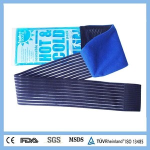 High Quality Ice Pack Physical Therapy Equipment Hot Cold Pack Flexible Gel Waist Belt Hot Pack