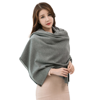 2017 winter newest ladies ponchos and capes pashmina scarves wholesale indian cashmere shawls
