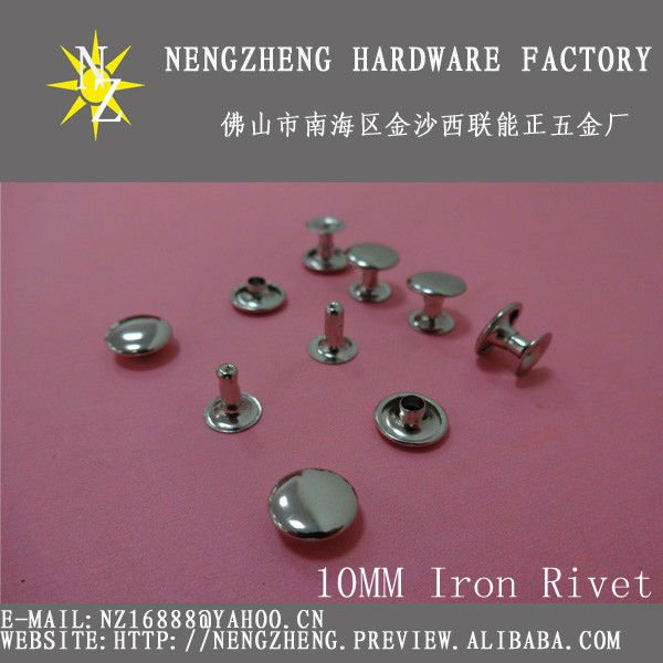 How to rivet fabric