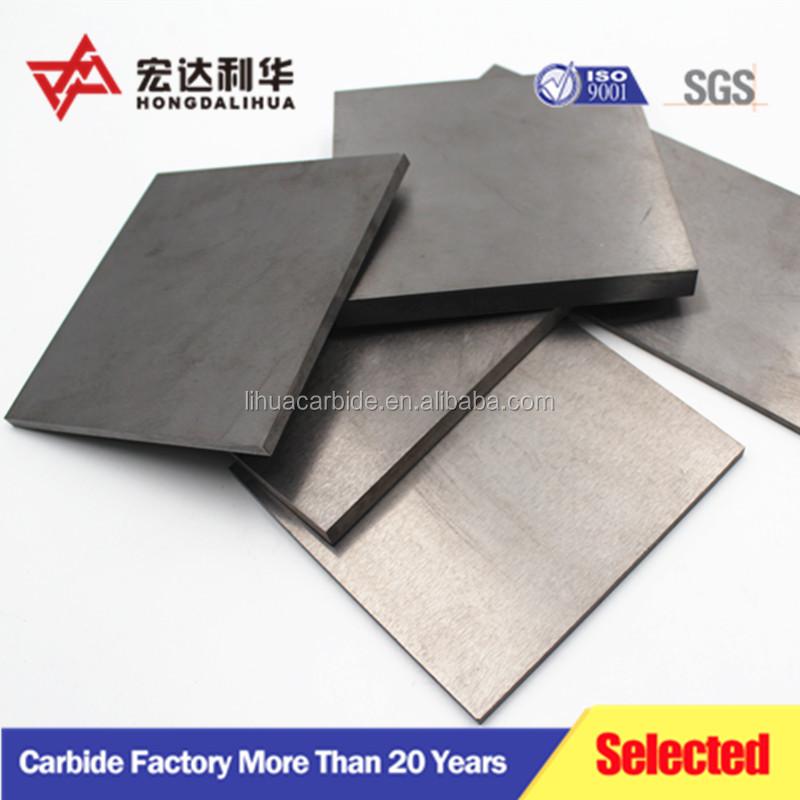 Nguyên nguyên liệu tinh khiết K10 dải tungsten carbide/K10 bê tông carbide strips