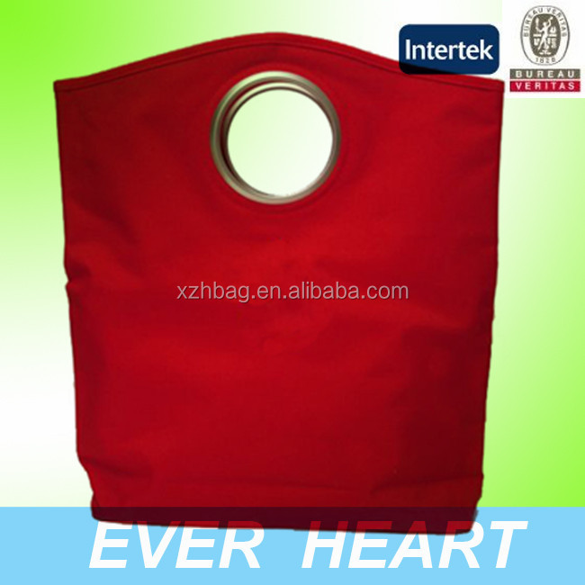 New Style Hot Sell Red Canvas Tote Bag Shopping Bag