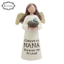 'NANA' angel <span class=keywords><strong>새</strong></span> products polyresin 피겨 angel 와 <span class=keywords><strong>새</strong></span> 둥지