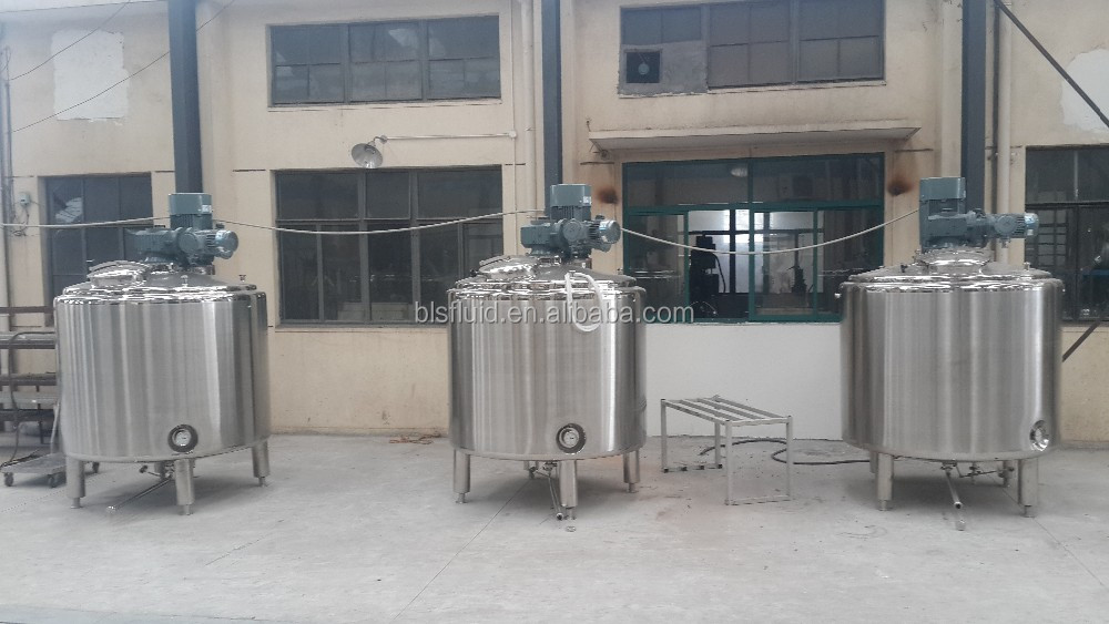 SS304 liquid soap mixing machine/liquid soap making machine detergent