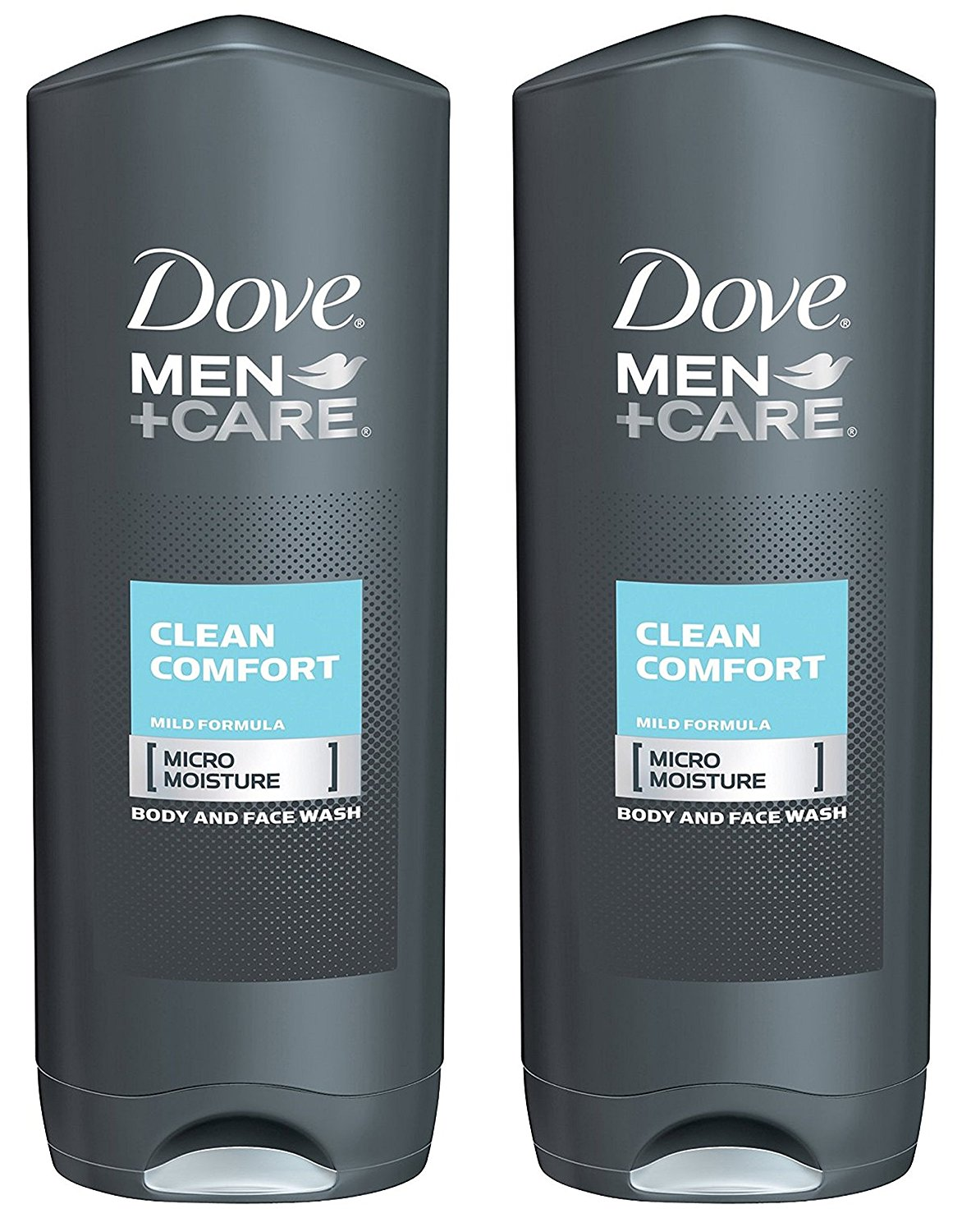 Dove Men +Care Body and Face Wash - Clean Comfort - 18 oz - 2 pk