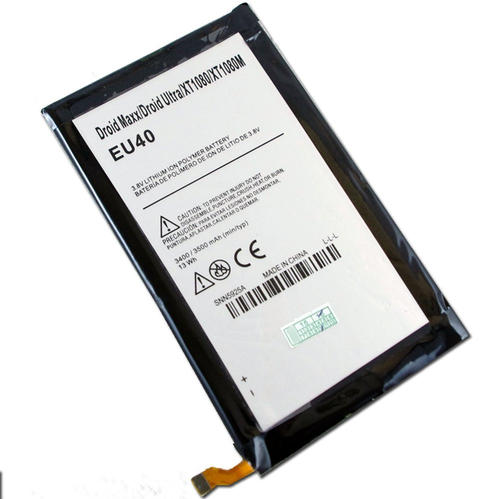 CBK New Replacement Internal Battery For EU40 SNN5925A Verizon Motorola Droid Ultra XT1080M Maxx E03