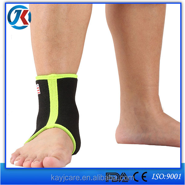 taobao shopping waterproof ankle brace with elastic sponge