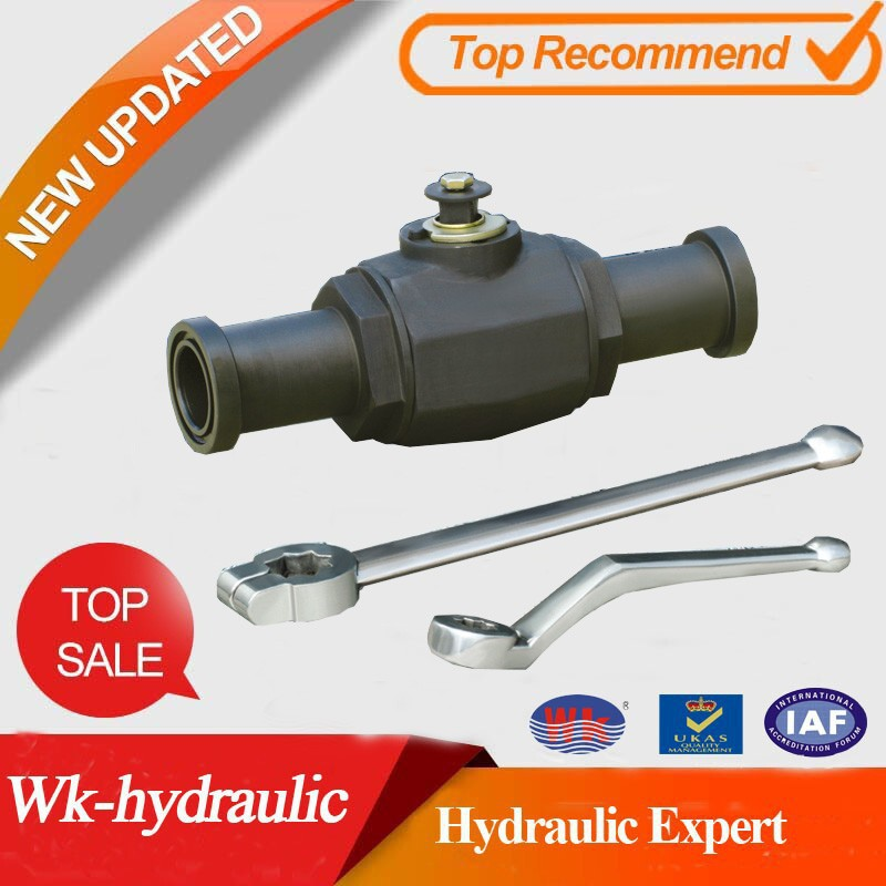high pressure sae flanges ball valve of WK- Hydraulic replace hydac KHB-F3/6KHM-F3/6