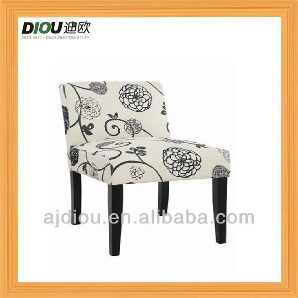 cheap wholesale fabric wooden modern lounge chair from Anji, China for dining room and restaurant(DO-6006)