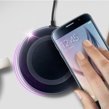 Newest OEM universal wireless charger mobile phone accessories portable Qi wireless charger for smart phones