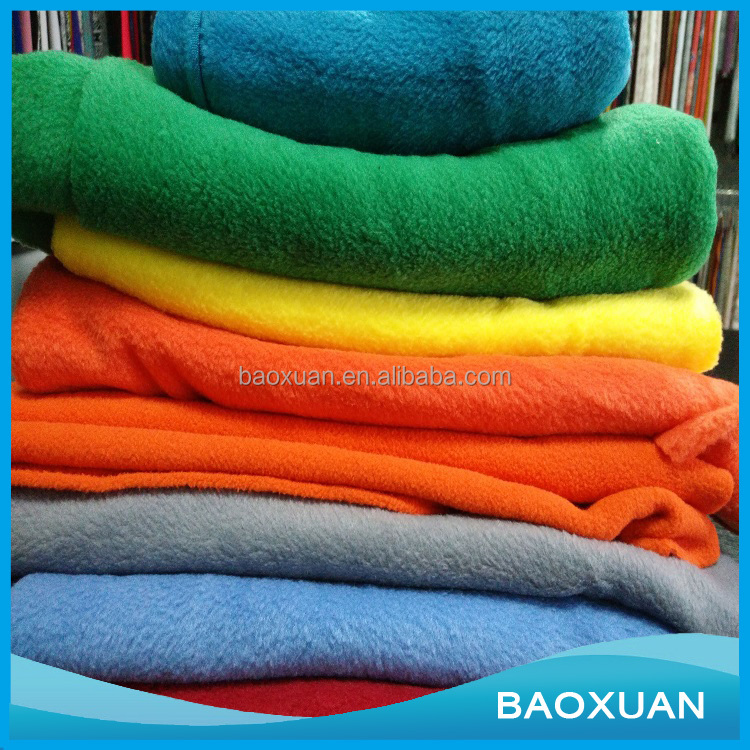 Wholesale micro polar fleece fabric for cloth and blanket