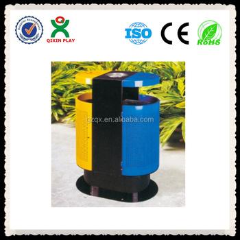 waste paper binsoutdoor trash cansoutdoor metal trash bin qx148a - Outdoor Trash Cans