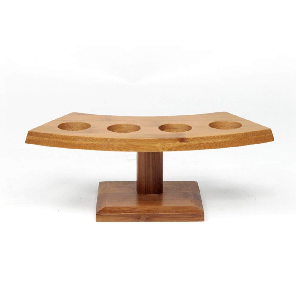 Japanese Temaki Sushi Roll Holder Sushi Display Holder Wooden Temaki Hand Roll Stand 1-5 Holes