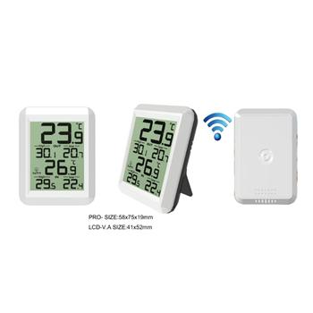 Indoor Outdoor Wireless Digital Thermometer