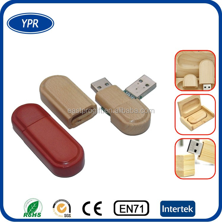 cheap real capacity custom logo wood gift usb flash drive 4gb 8gb with high speed